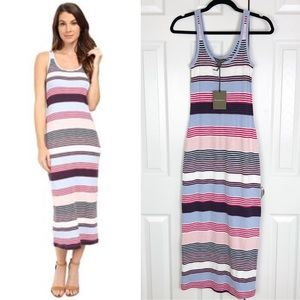 New Tommy Bahama Veradero Stripe Column Dress